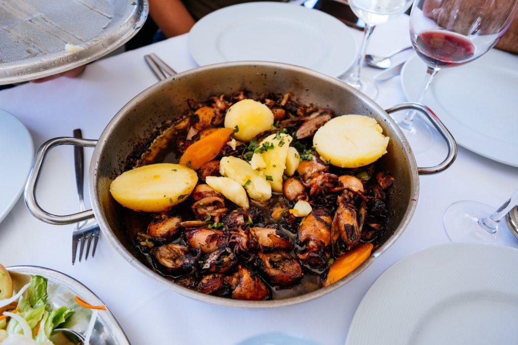 Portugal - Murtosa - Restaurant O Bico - Calamars