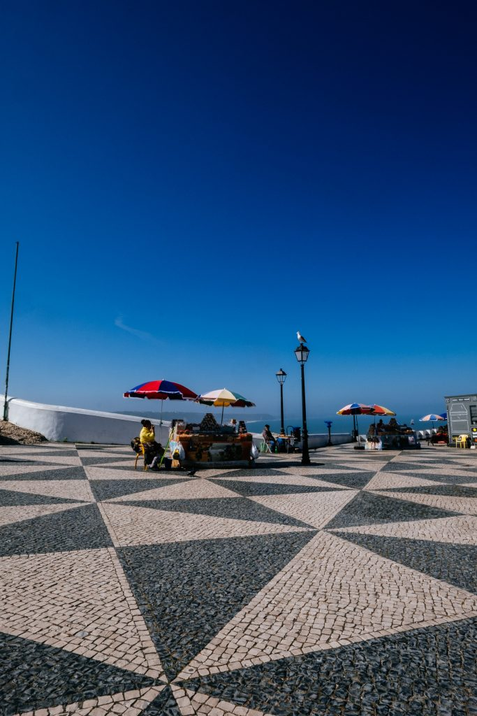 Portugal - Nazaré - promontoire de Sitio