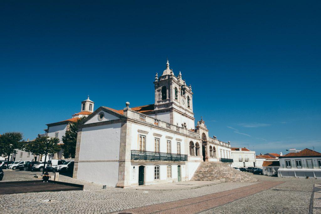 Portugal - Nazaré - sanctuaire de Notre-Dame de Nazaré (Nossa Senhora da Nazaré)
