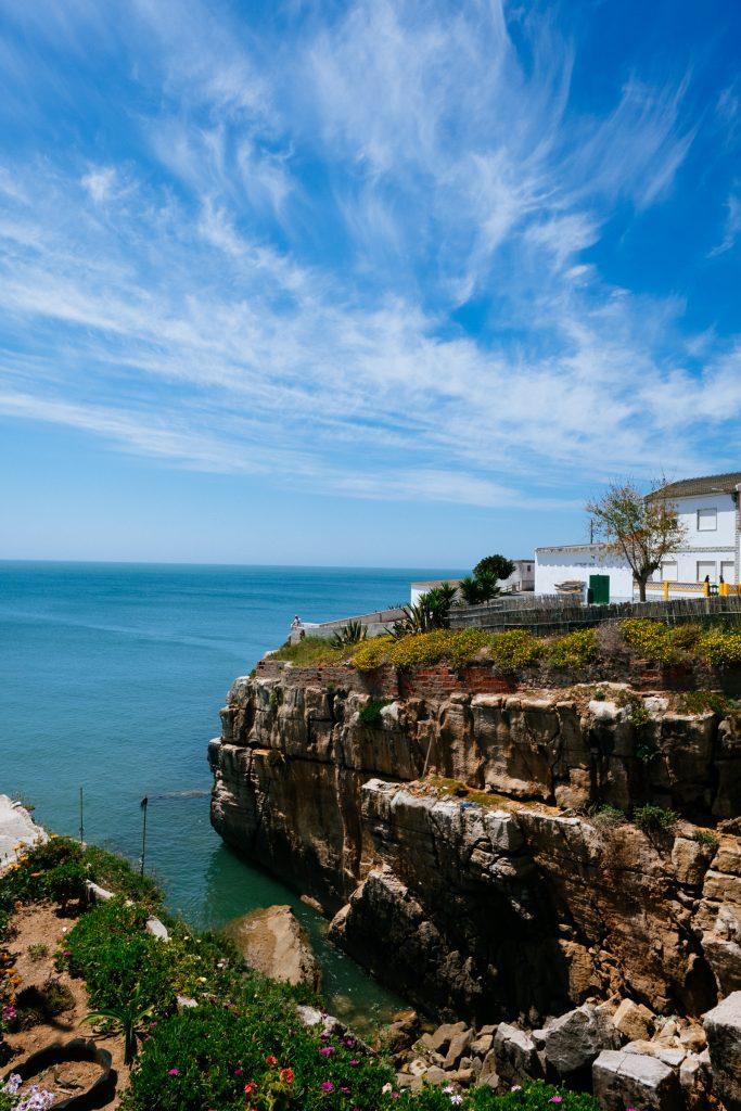 Portugal - Peniche - Côte - Falaise - Océan Atlantique