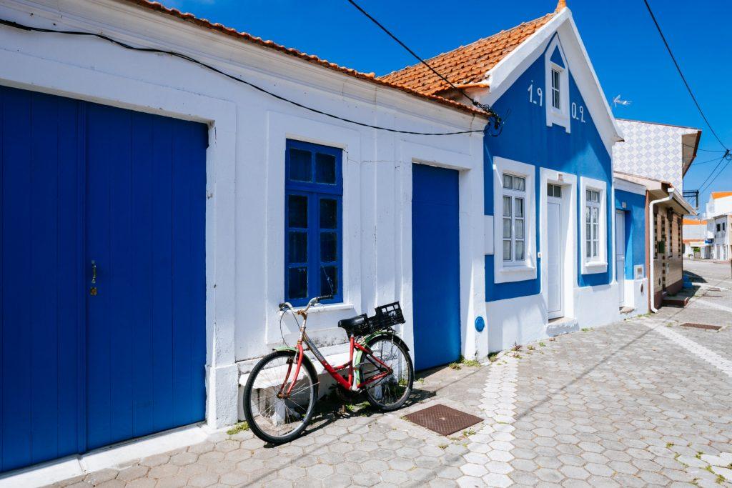 Portugal - Bairro dos Pescadores - Maison bleue
