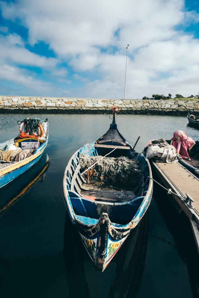 Portugal - Quai de Torreira (Cais da Torreira) - Moliceiros
