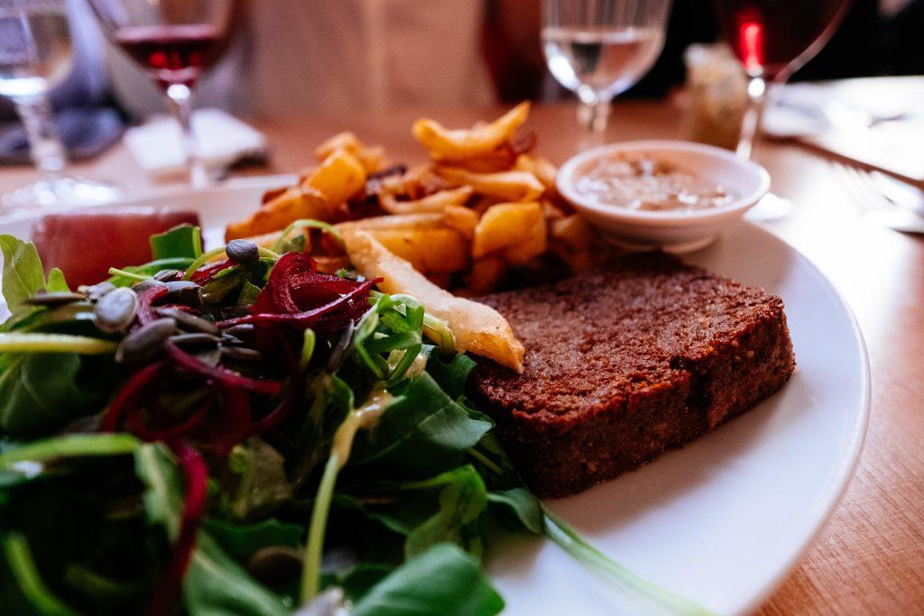 Paris - Vegan - Veggietown - Restaurant Le Faitout - Steak Vegan